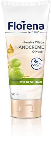Florena Handcreme Olivenöl Vegan, 1er Pack (1 x 100ml)