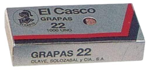 Grapas 22/6 Galvanizadas Marca El Casco