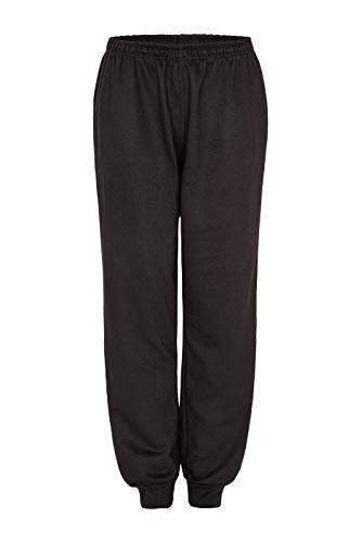 Herbold Sportswear Kinder Jogginghose, Schwarz, 176