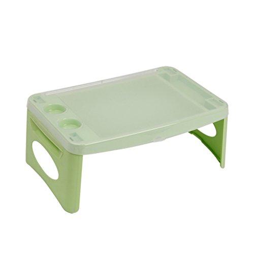 Bao Xing Bei Firm Table Pliante en Plastique de Bureau d'ordinateur Table de Voiture de Table d'enfants de Table paresseuse Petite Table de Salle à Manger Disponible sur Le lit ou la Voiture