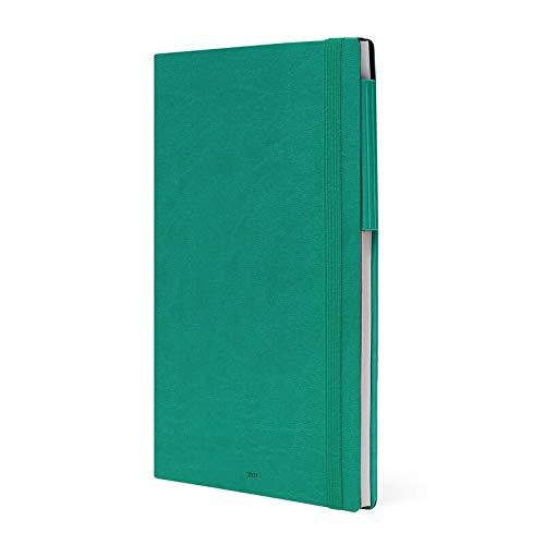 Legami - Agenda Settimanale & Giornaliera, 12 Mesi, 2021, Large, Turquoise