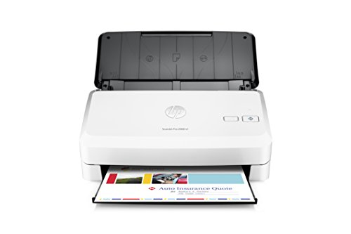 HP ScanJet Pro 2000 s1 Sheet-feed OCR Scanner