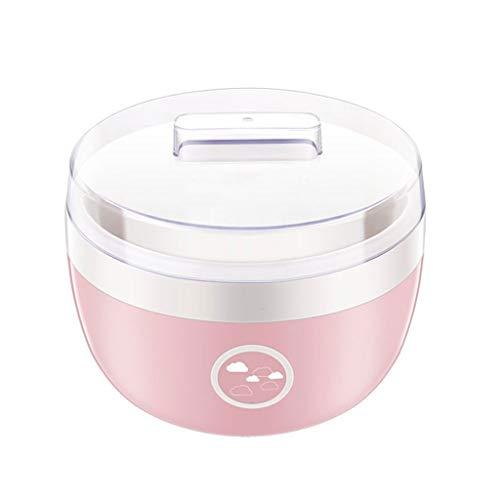 Purchase SAAND Automatic Household Mini Yogurt Machine Kitchen Tool Yogurt Mini FermentationMachine 1L Large Capacity (Color : PINK)