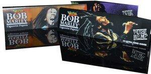BOB MARLEY 6 BOB MARLEY librillos de papel de liar para cama de matrimonio de fumar!