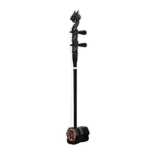 Zhenwo Erhu, Schwarz Ebony Erhu Instruments, Gespielt Suzhou Handmade Erhu Instruments, Führen Erhu, Ethnische Instrumente, Erwachsene Kinderinstrumente,A