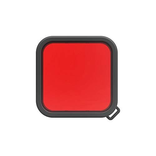 XINGRUI Alto Tech Square Vivienda Buceo Filtro de la Lente de Color for Insta360 un R 4K Edición / 1 Pulgada DICIÓN (Rosa) (Color : Red)
