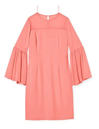 Gina Bacconi Women's Crisiant Moss Crepe and Chiffon Dress Vestido para Madre...