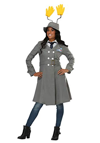 Inspector Gadget Womens Fancy Dress Costume Small