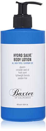 Baxter of California Hydro Salve Body Lotion - Lightweight and Non-Greasy, 473ml
