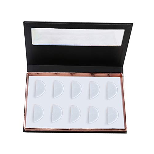 MMLC Leere False Eyelash Care Aufbewahrungskoffer Box Container Holder Compartment Tool Aufbewahrungskiste Schönheitsprodukte (A)