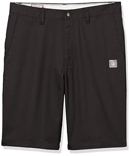 Volcom Men's Vmonty Chino Shorts, Black, 33