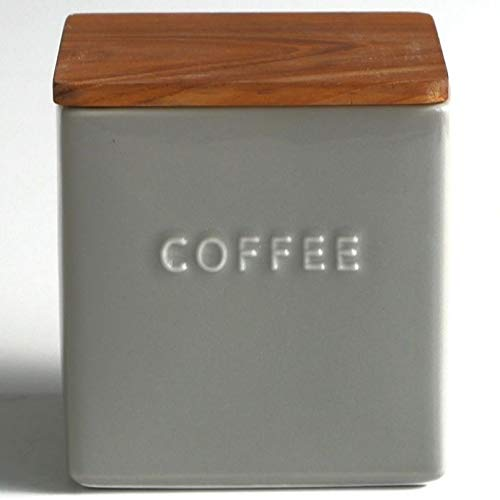 LOLO 保存容器 磁器 キャニスター BS01 日本製 チーク 500ml (COFFEE)