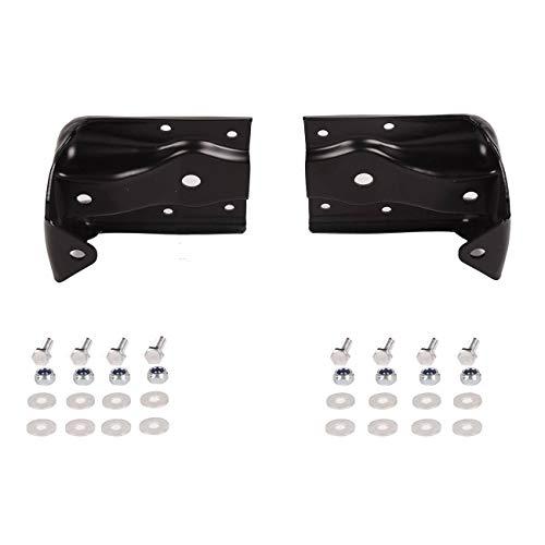 Bapmic 12474021 Rear Leaf Spring Hanger Shackle Bracket Compatible with Chevrolet Silverado 1500 Cadillac Escalade GMC Sierra Yukon