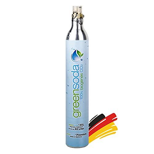 Party Factory Universal 2X 63 Liter Soda-Zylinder für alle handelsüblichen Wassersprudler, 450g Kohlensäure, CO2 Zylinder für SodaStream