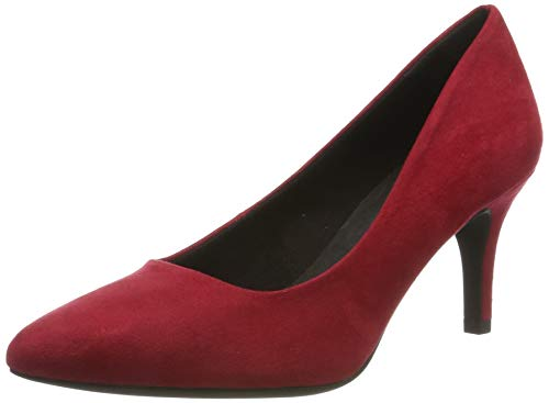MARCO TOZZI Damen 22452' Pumps, Rot (RED 500), 39 EU