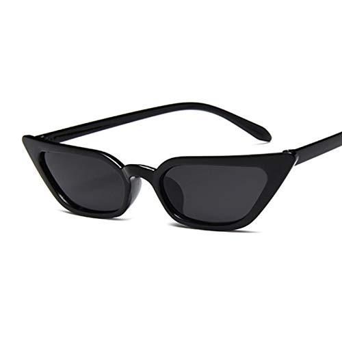 ShZyywrl Gafas De Sol Gafas De Sol Pequeñas con Forma De Ojo De Gato para Mujer, Gafas De Sol Vintage con Espejo, Gafas De Sol para Mujer U