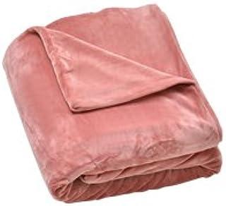 mofua うっとりなめらかパフ 布団を包める毛布 プレミアム シングル (ピンク)