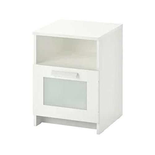 Ikea BRIMNES Ablagetisch in weiß; (39x41cm)
