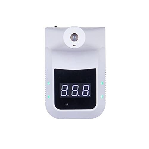 Termometro digitale automatico   Termometro infrarossi da parete   Termometro febbre infrarossi Bianco   termoscanner a parete