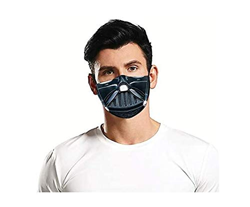ROXX (DarthVade SW Outdoor Mask with Changeable Filter, Unisex Anti Pollen Allergens Filters Dust Includes 2 Filters
