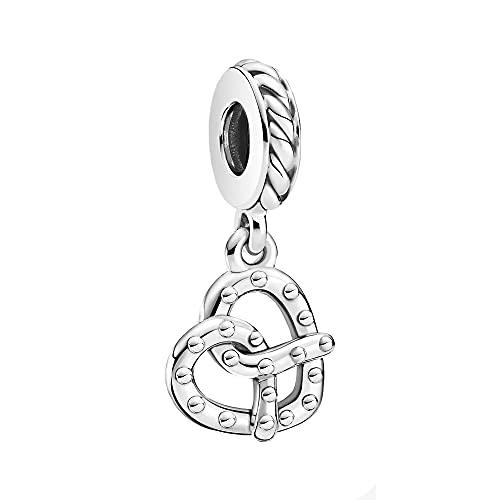 Pandora Pretzel - Colgante de plata (10 mm)