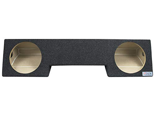 """Atrend Bbox A232-10CP Dual 10"""""""" Sealed Carpeted Subwoofer Enclosure - Fits 1994-2002 Dodge Ram Extended Cab, Black, 10.5"""""""" x 44.5"""""""" x 15.5"""""""""""""""
