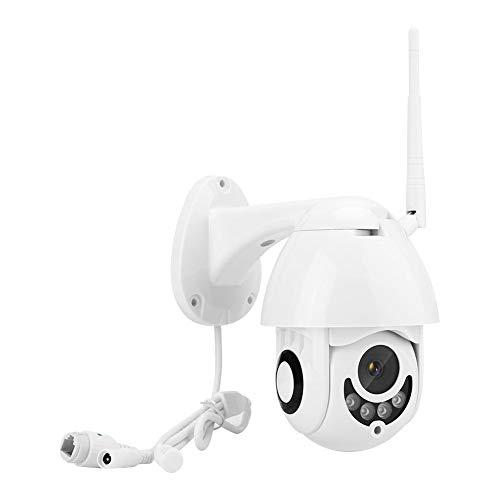 Telecamera di Sicurezza, 1080P HD 2MP Mini WiFi Wireless IP66 Impermeabile Grandangolo con Microfono Incorporato Supporto per Altoparlante Visione Notturna, Rilevazione del Movimento(Me)