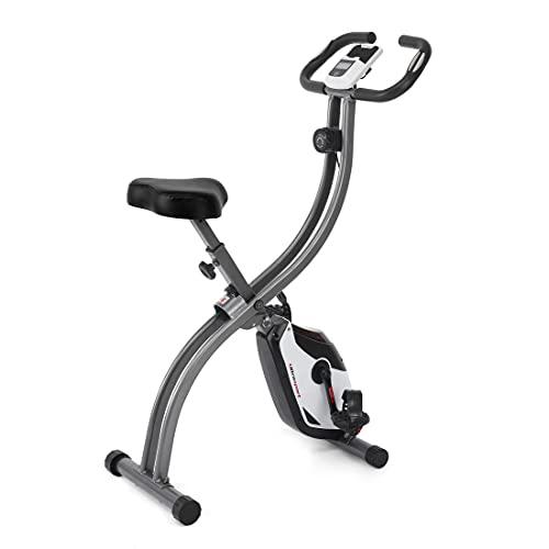 Ultrasport Trainer da Casa F-Bike 150, Bici da Fitness Pulsazioni con Computer di Allenamento e Sensori Unisex-Adulto, Argento/Nero, Taglia Unica