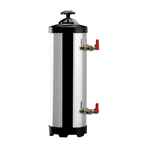 Gastlando - Addolcitore per acqua in acciaio inox, 8 litri