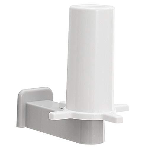 Fransande Toallero de papel de cocina perforado para papel de pared, 4 unidades