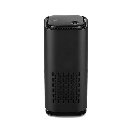 LJKsgU Mini humidificadores portátiles para coche, aroma USB, difusor de aceite esencial, aire negativo, iones de aire, ambientador ionizador limpiador regalo de año nuevo (negro)