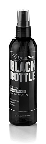 Signature Black Bottle - Penile Moisturizer Cream - Urologist and Dermatologist Approved - Helps Relieve Chafing, Reduces Dry, Irritated Penile Skin