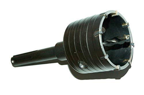 SJWJ SDS MAX - Corona de perforación para taladro SDS MAX (50 mm, M22)