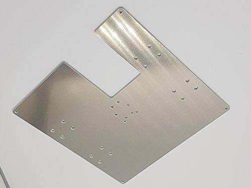 Anet A8 Druckerplatte/H-Träger 5mm Alu Auch für AM8