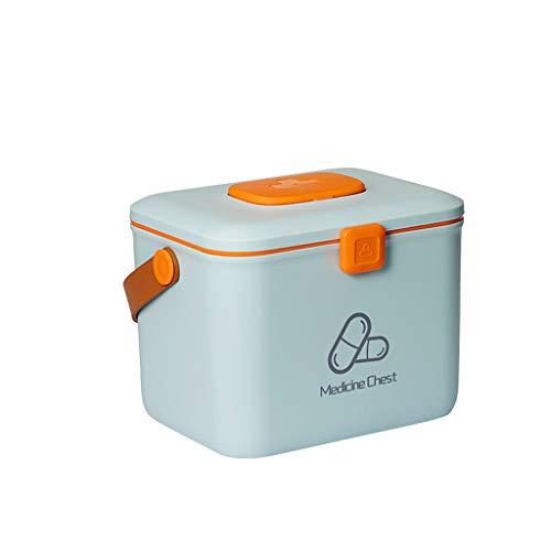 SXZHSM Medicine Box Home Medicine Box Spelen Geneeskunde Extra Grote Opbergdoos Multi-layer Medische Baby Capaciteit Familie Geneeskunde 25x32x23.5cm medicijnopbergdoos