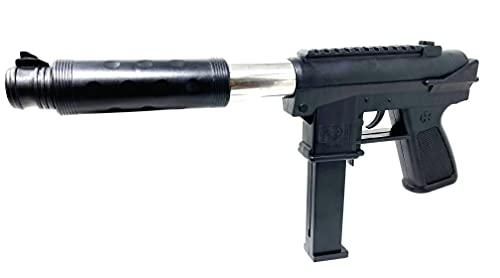 Seilershop Softair Pistole Uzi Airsoft Gun Federdruck 37cm Pump Action 0,49 Joule