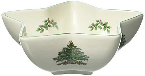Spode Weihnachtsbaum Christmas Tree Star Serving Bowl mehrfarbig