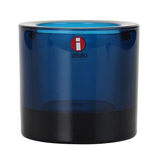 Iittala 1007182 Teelichthalter Kivi, dunkeltürkis, 60mm