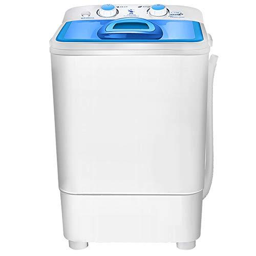 Daniel Mini Waschmaschine, Portablesingle Tub Waschmaschine, UV Lila Deep Clean, Einfacher Knob Elution Timing-Leistungsfähiger Motor, Für Camping Dorms Apartments College-Zimmer,1