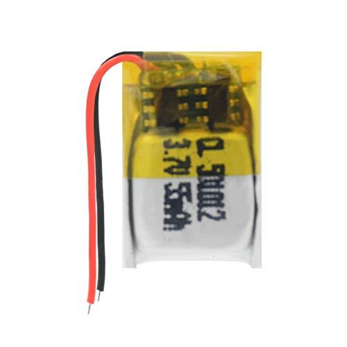 hsvgjsfa BateríAs De Iones De Litio De 3.7v 55mah 501012, Batería Recargable para El Ratón InaláMbrico 2Pcs