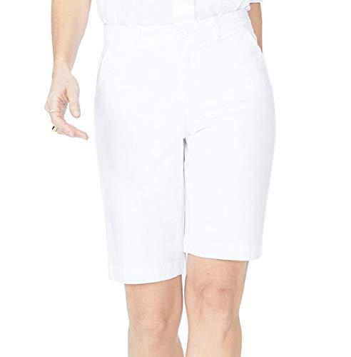 NYDJ Women's Bermuda Short, Optic White, 8