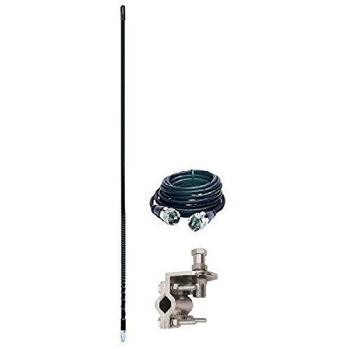 Pro Trucker Single Antenna Mirror