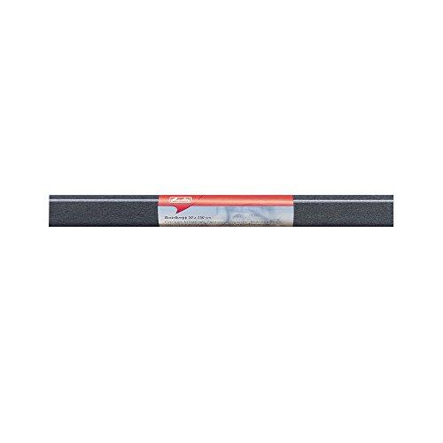 Herlitz 253120 Bastelkrepp 50 x 250 cm, 10 Stück, schwarz