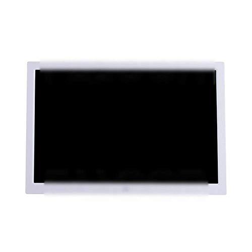 TUNBG 15,4 inch digitale fotolijst met LED-scherm elektronisch fotoalbum (kleur: wit, afmeting: 362x244x25mm)