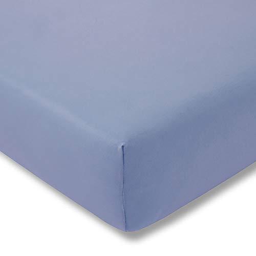 ESTELLA hoeslaken Feinjersey | lichtblauw