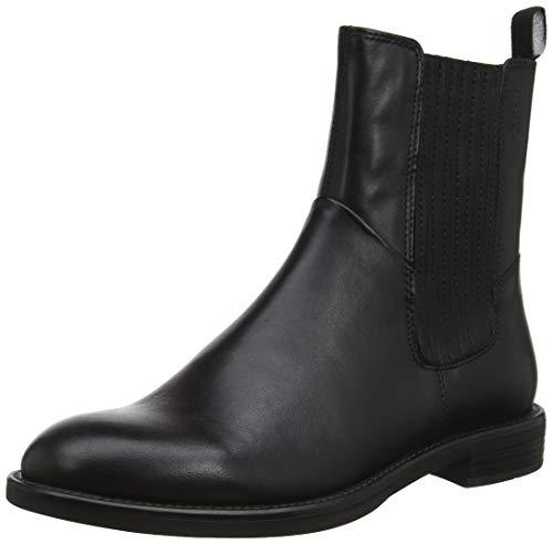 Vagabond Damen Amina Chelsea Boots, Schwarz (Black 20), 39 EU