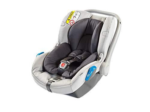 Silla de coche infantil Avionaut Kite+ | silla de seguridad infantil ligera | silla de coche grupo 0+ (0-13kg, 40cm-86cm) | para bebés de 0 a 12 meses | Grafitoe/Gris