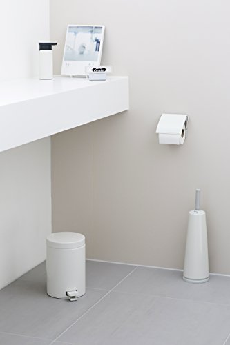 Brabantia 414565 – Dispensador de Papel higiénico, Color Blanco