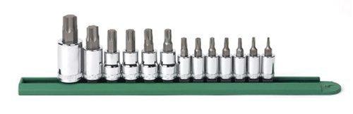 GEARWRENCH 13 Pc. 1/4', 3/8' & 1/2' Drive Torx Bit Socket Set - 80723