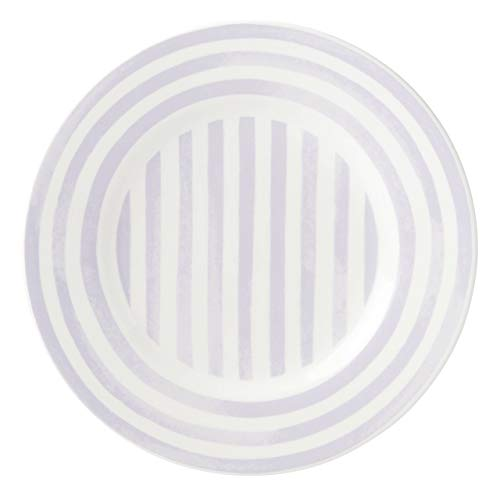 Kate Spade New York Charlotte Street North Lilac Accent Plate, 1.24 LB, Purple